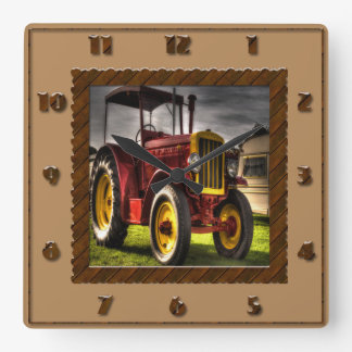 Antique Tractor Clock