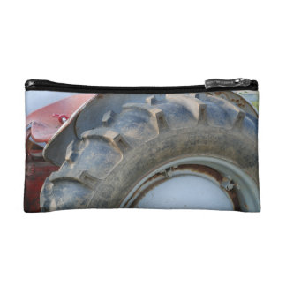 antique tractor cosmetic bag
