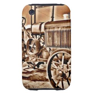 Antique Tractor Farm Equipment Classic Sepia iPhone 3 Tough Cover