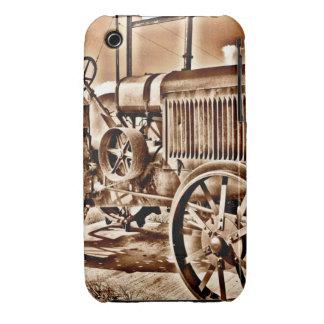 Antique Tractor Farm Equipment Classic Sepia iPhone 3 Case