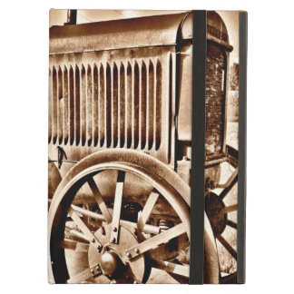 Antique Tractor Farm Equipment Classic Sepia Case For iPad Air