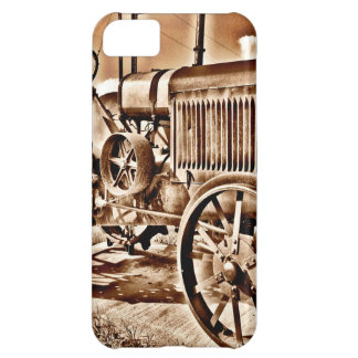 Antique Tractor Farm Equipment Classic Sepia iPhone 5C Case