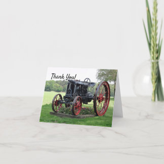 Antique Tractor Thank You
