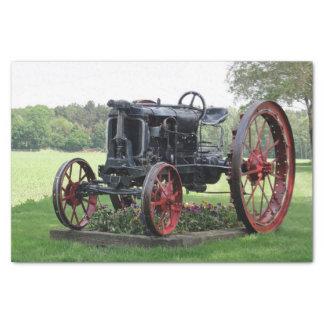 Antique Tractor Tissue Paper
