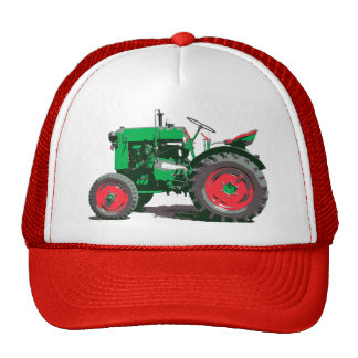 ANTIQUE TRACTOR TRUCKER HAT