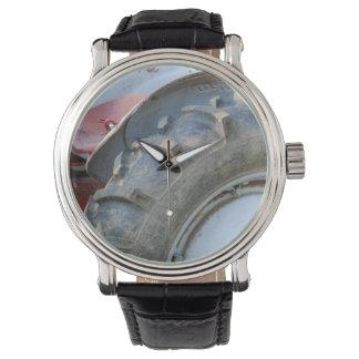 antique tractor wrist watch