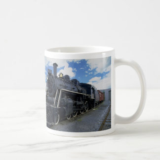 Antique Train Coffee Mug
