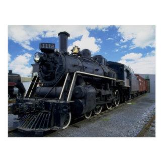 Antique Train Postcard