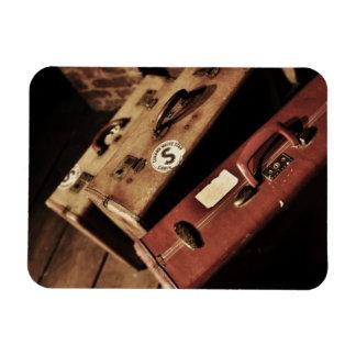 Antique Travel Cases Magnet