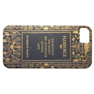 Antique Travel Guide to Florence Italyy iPhone SE/5/5s Case