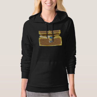 Antique Treasure Chest Womens Hoodie