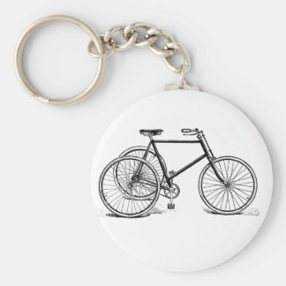Antique Tricycle Key Chain