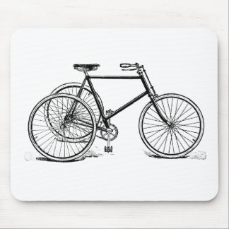 Antique Tricycle Mouse Pad