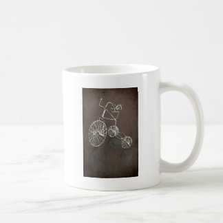 Antique tricycle. coffee mug