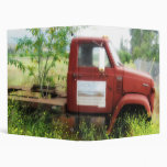 Antique Truck and Tree 3 Ring Binder