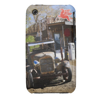 Antique truck at general store in the American iPhone 3 Case