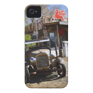 Antique truck at general store in the American iPhone 4 Cases