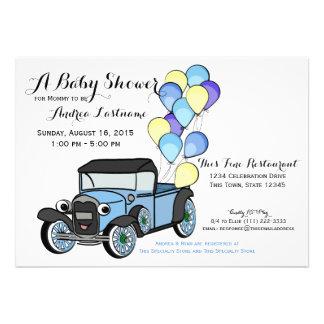 Antique Truck Baby Shower Invitation