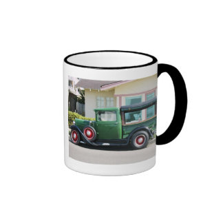 Antique truck, Happy Fathers Day! To A Dad Who's.. Mugs