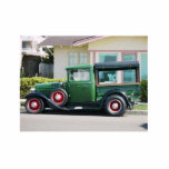 Antique Truck - PHOTOSCULPTURE Photo Cutouts