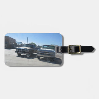 Antique Trucks Luggage Tags