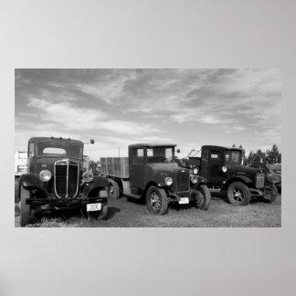 Antique Trucks Posters