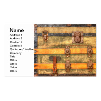 Antique Trunk Double-Sided Standard Business Cards (Pack Of 100)