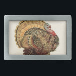 "Antique Turkey illustration Thanksgiving Belt Buckle<br><div class=""desc"">Antique Turkey Illustration for Thanksgiving ocassion</div>"