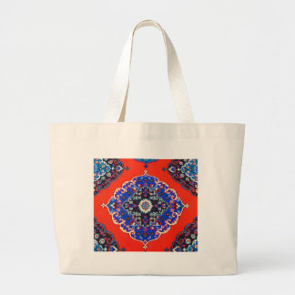 Antique Turkish Textiles Carpets Rugs Kilims Large Tote Bag