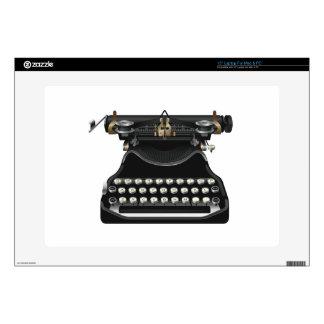 """Antique Typewriter 15"""" Laptop Decal"""