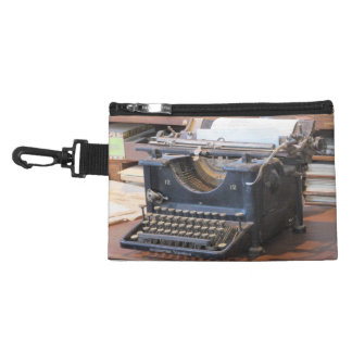 Antique Typewriter Accessory Bag