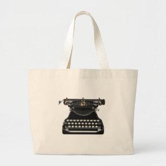 Antique Typewriter Jumbo Tote Bag