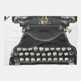 Antique Typewriter Kitchen Towel
