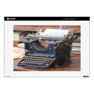 Antique Typewriter Laptop Skin