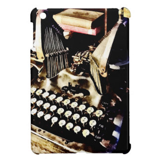 Antique Typewriter Oliver #9 Cover For The iPad Mini