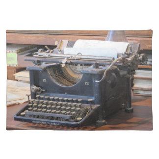 Antique Typewriter Placemat