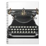 Antique Typewriter Spiral Notebook