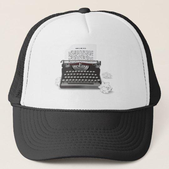Antique Typewriter Trucker Hat