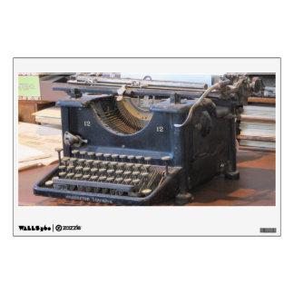Antique Typewriter Wall Sticker
