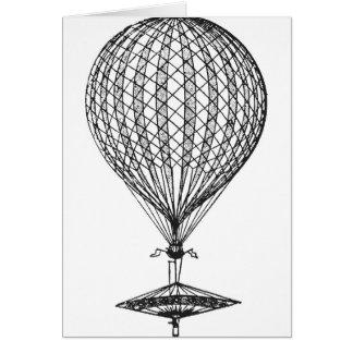 Antique UFO Balloon 1 Card