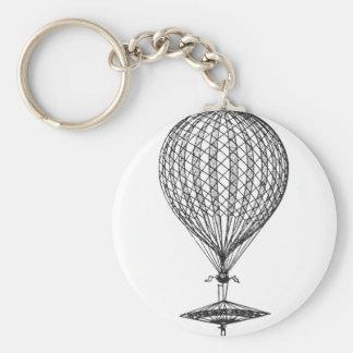 Antique UFO Balloon 1 Key Chains