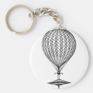 Antique UFO Balloon 1 Keychain