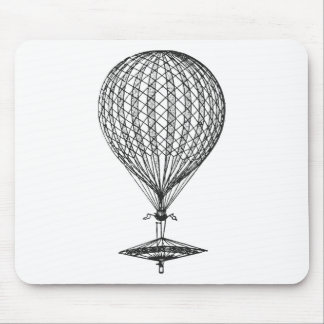 Antique UFO Balloon 1 Mouse Pads