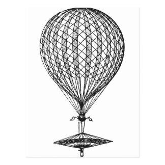 Antique UFO Balloon 1 Postcard