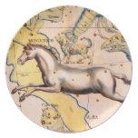 Antique Unicorn Horse Art Vintage Wall Decor Dinner Plate