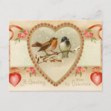 Antique Valentine Postcard