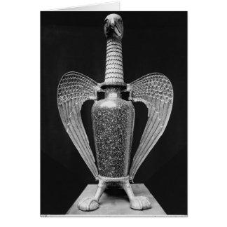 Antique vase transformed to a liturgical ewer card
