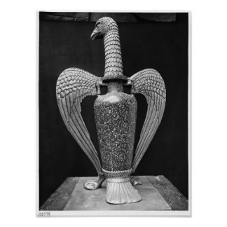 Antique vase transformed to a liturgical ewer poster