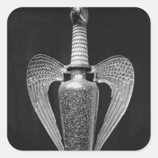 Antique vase transformed to a liturgical ewer sticker