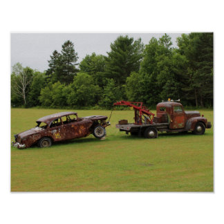 Antique Vehicles Summer 2016 Poster